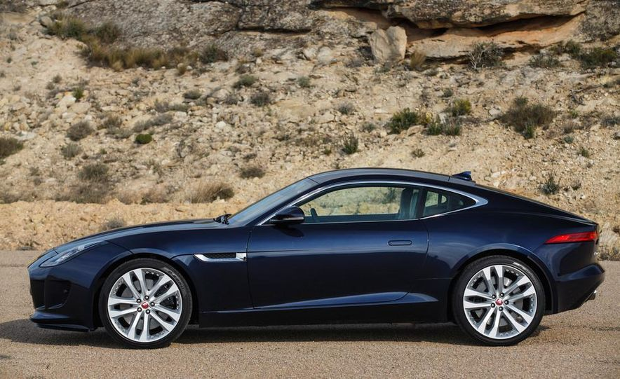 2015 Jaguar F-type V-6 S coupe (Euro-spec) - Slide 83