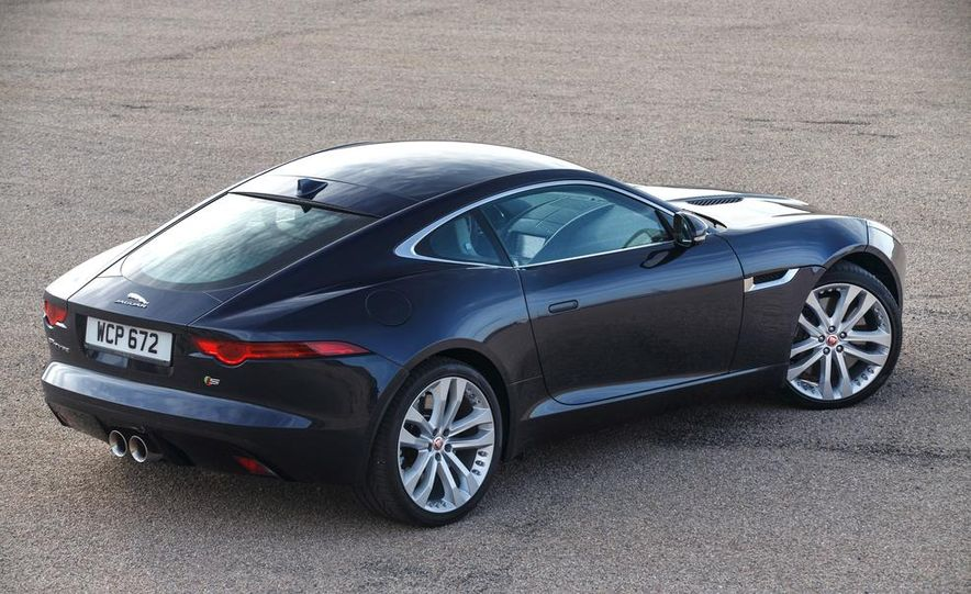 2015 Jaguar F-type V-6 S coupe (Euro-spec) - Slide 84
