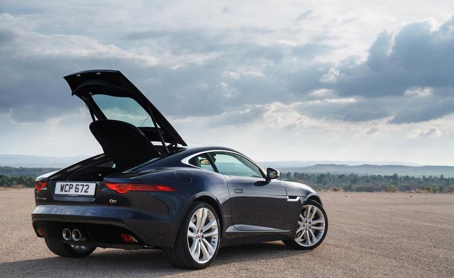 2015 Jaguar F-type V-6 S coupe (Euro-spec) - Slide 85
