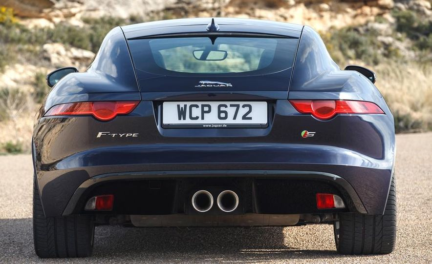 2015 Jaguar F-type V-6 S coupe (Euro-spec) - Slide 87