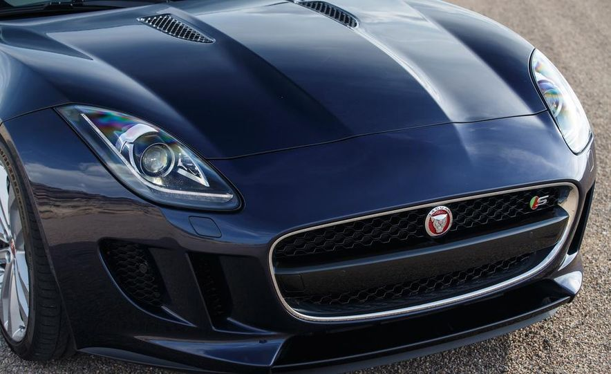 2015 Jaguar F-type V-6 S coupe (Euro-spec) - Slide 88