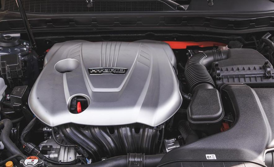 2014 Kia Optima EX hybrid - Slide 62
