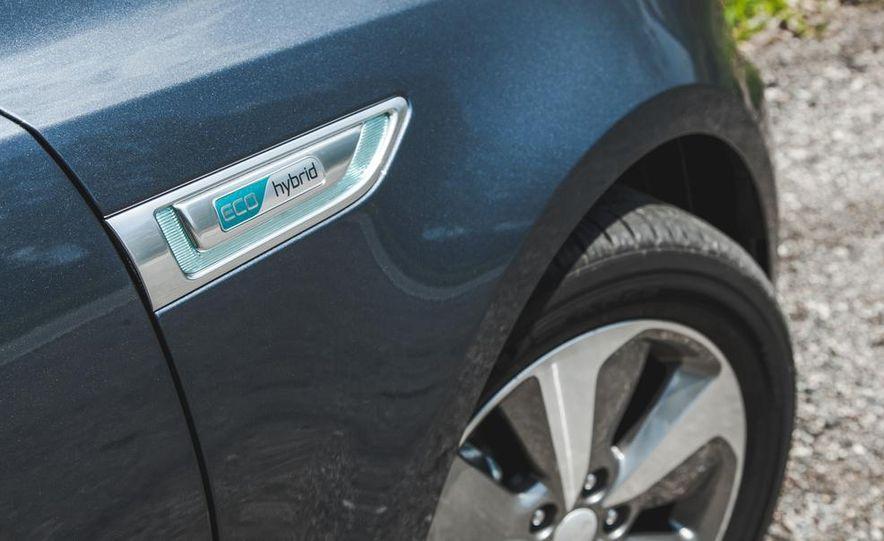 2014 Kia Optima EX hybrid - Slide 22