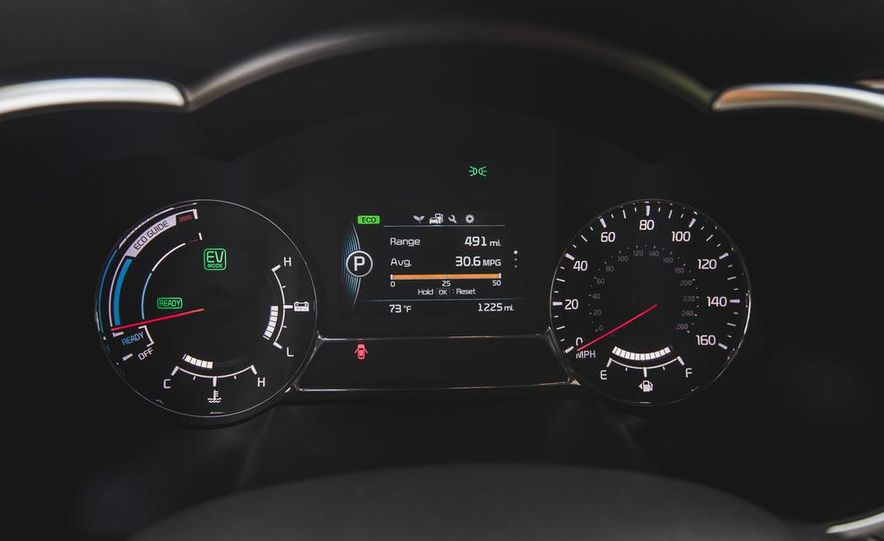 2014 Kia Optima EX hybrid - Slide 47