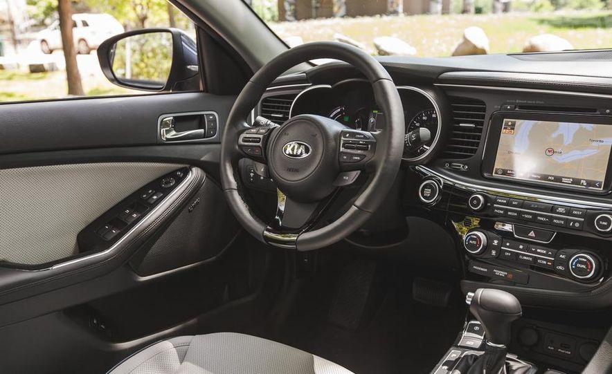 2014 Kia Optima EX hybrid - Slide 34