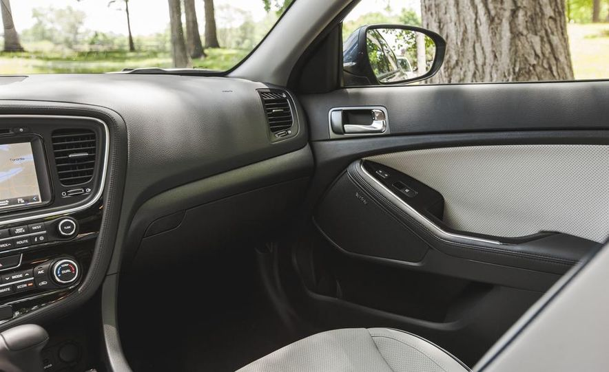 2014 Kia Optima EX hybrid - Slide 37