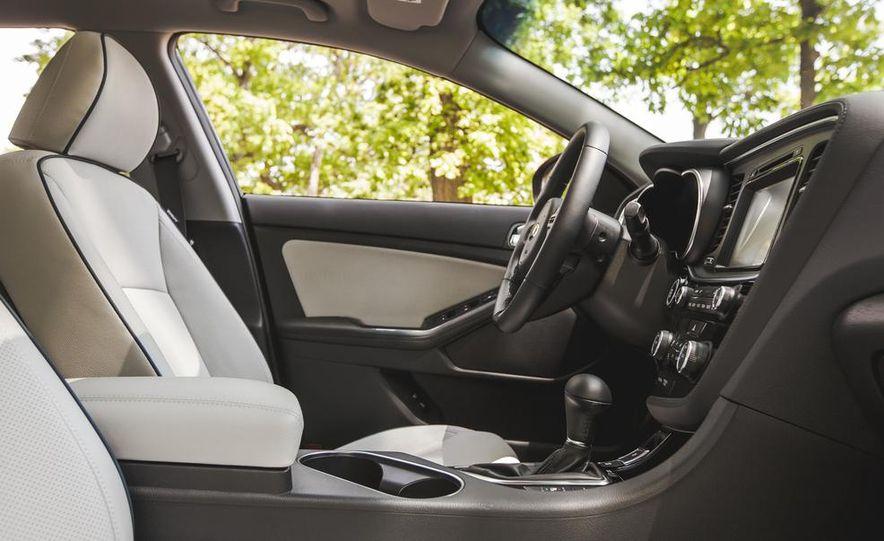 2014 Kia Optima EX hybrid - Slide 39