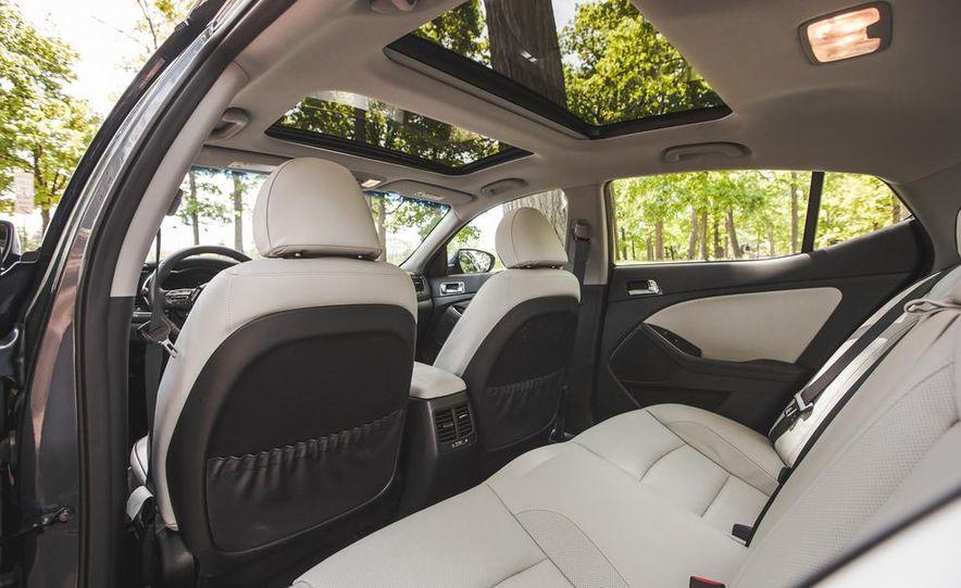 2014 Kia Optima EX hybrid - Slide 40