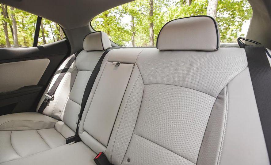 2014 Kia Optima EX hybrid - Slide 43