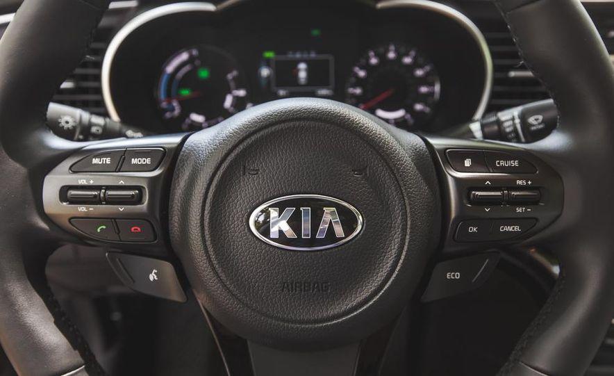 2014 Kia Optima EX hybrid - Slide 46