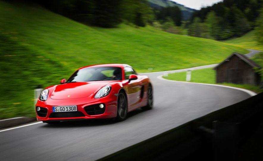 2015 Porsche Cayman GT4 (spy photo) - Slide 23