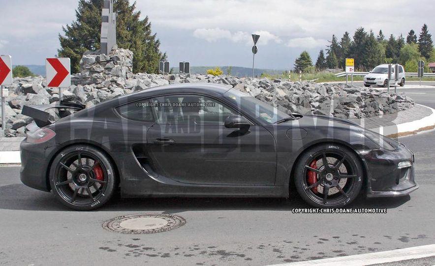 2015 Porsche Cayman GT4 (spy photo) - Slide 5