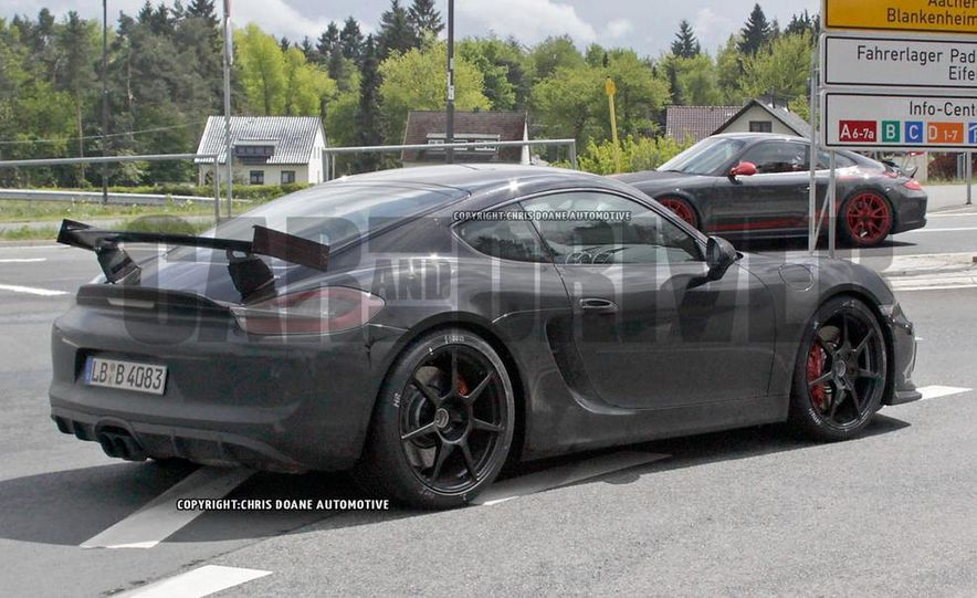 2015 Porsche Cayman GT4 (spy photo) - Slide 7