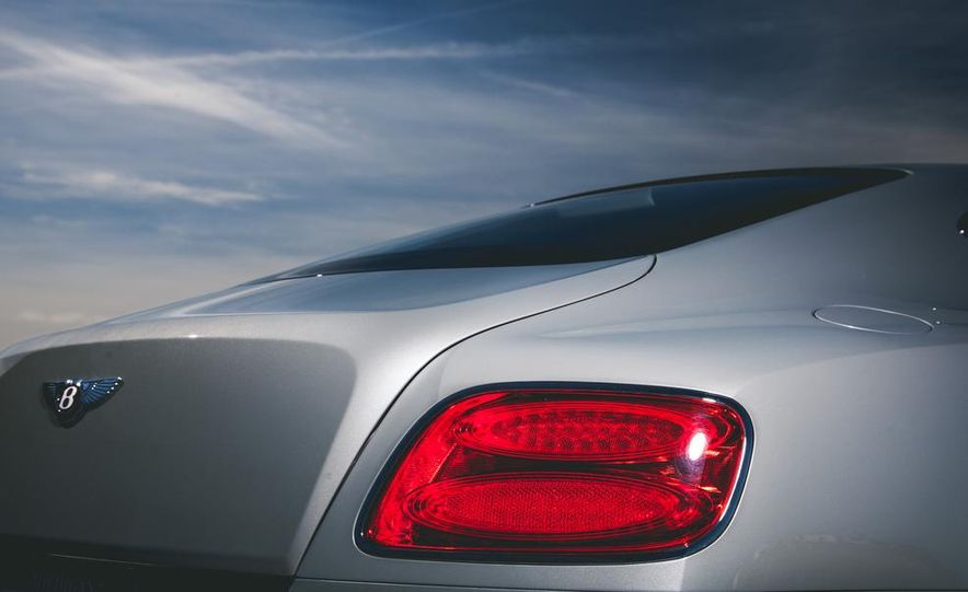 2014 Bentley Continental GT V-8 S coupe - Slide 18