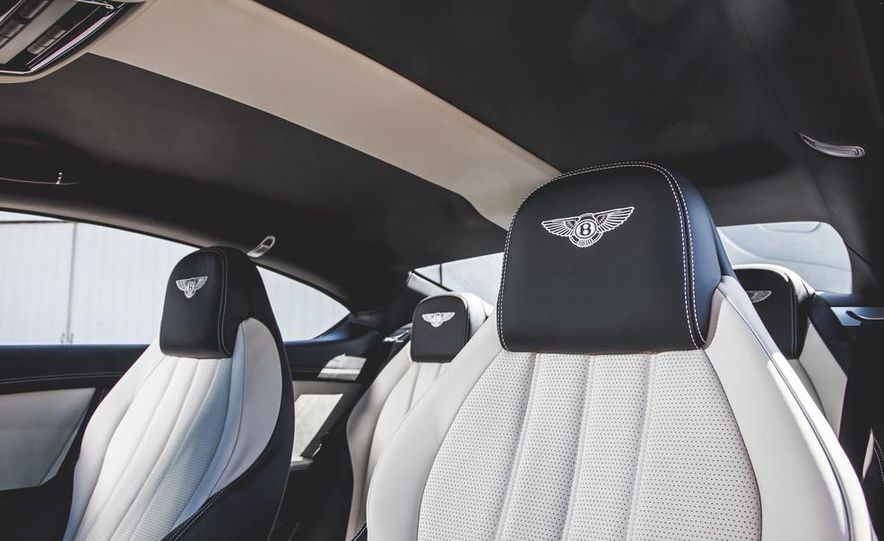 2014 Bentley Continental GT V-8 S coupe - Slide 24