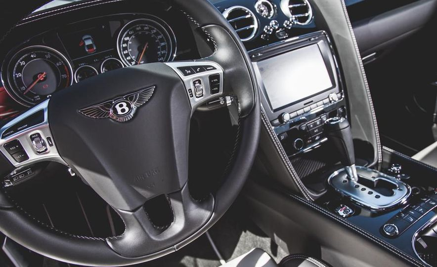 2014 Bentley Continental GT V-8 S coupe - Slide 26