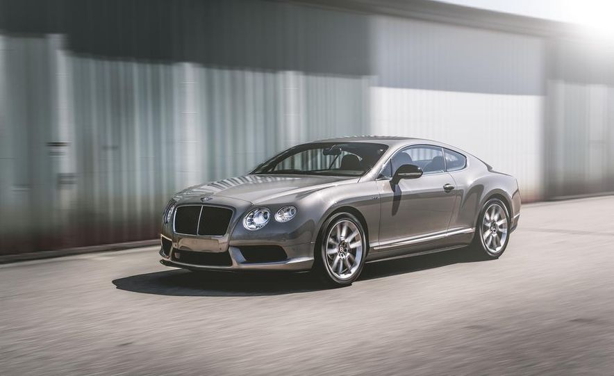 2014 Bentley Continental GT V-8 S coupe - Slide 1