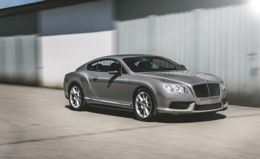 2014 Bentley Continental GT V-8 S coupe - Slide 2