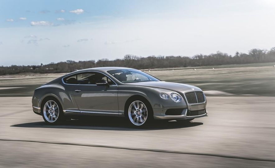2014 Bentley Continental GT V-8 S coupe - Slide 3