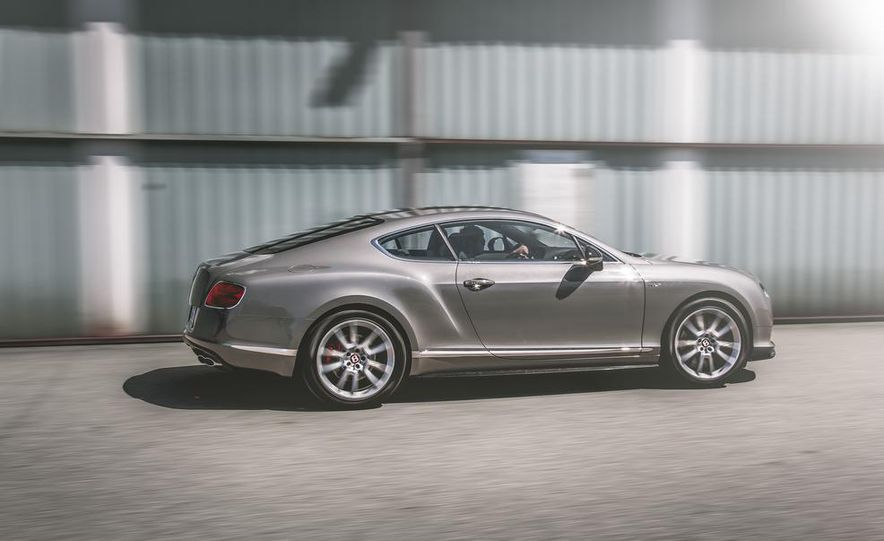 2014 Bentley Continental GT V-8 S coupe - Slide 4