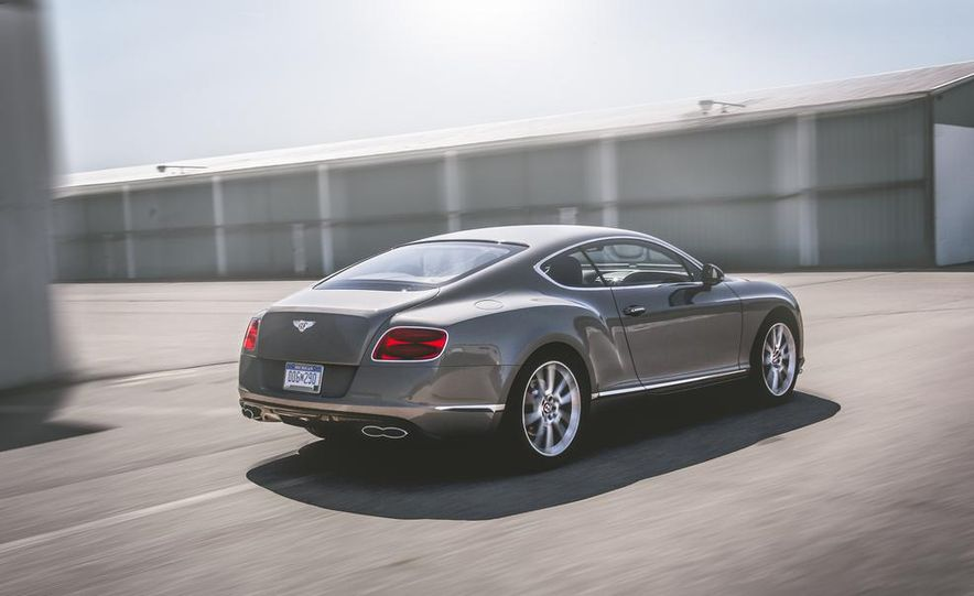 2014 Bentley Continental GT V-8 S coupe - Slide 5