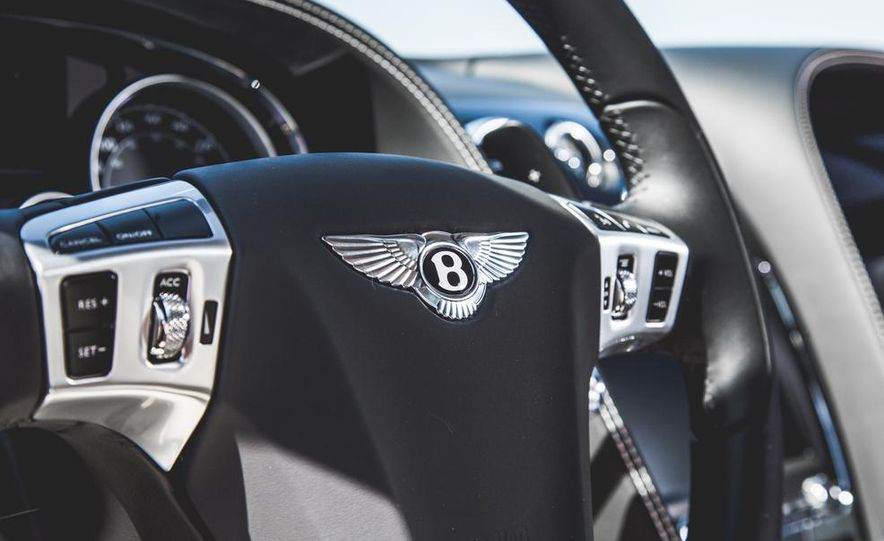 2014 Bentley Continental GT V-8 S coupe - Slide 27