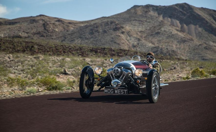 2013 Morgan 3 Wheeler - Slide 5