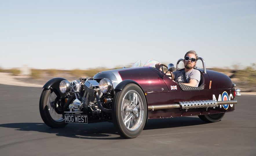 2013 Morgan 3 Wheeler - Slide 8