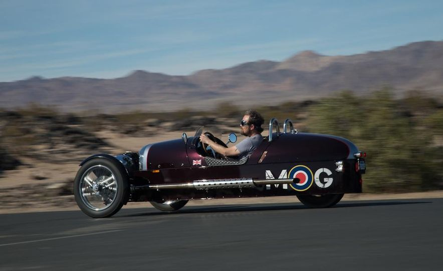 2013 Morgan 3 Wheeler - Slide 10