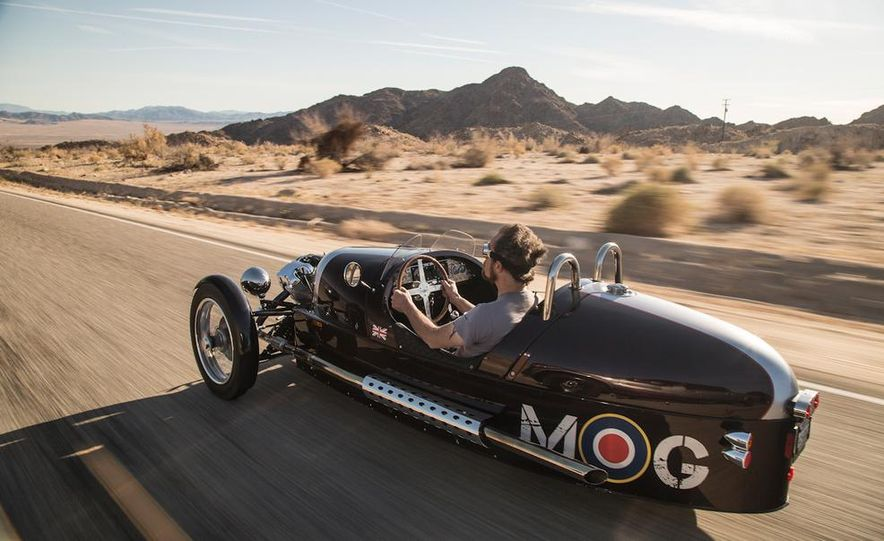 2013 Morgan 3 Wheeler - Slide 13