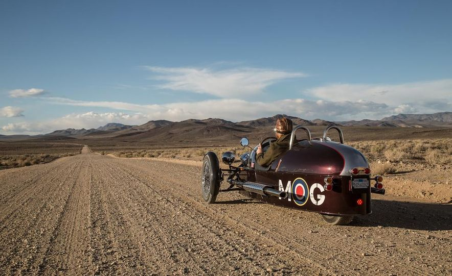 2013 Morgan 3 Wheeler - Slide 14