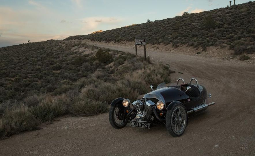 2013 Morgan 3 Wheeler - Slide 23