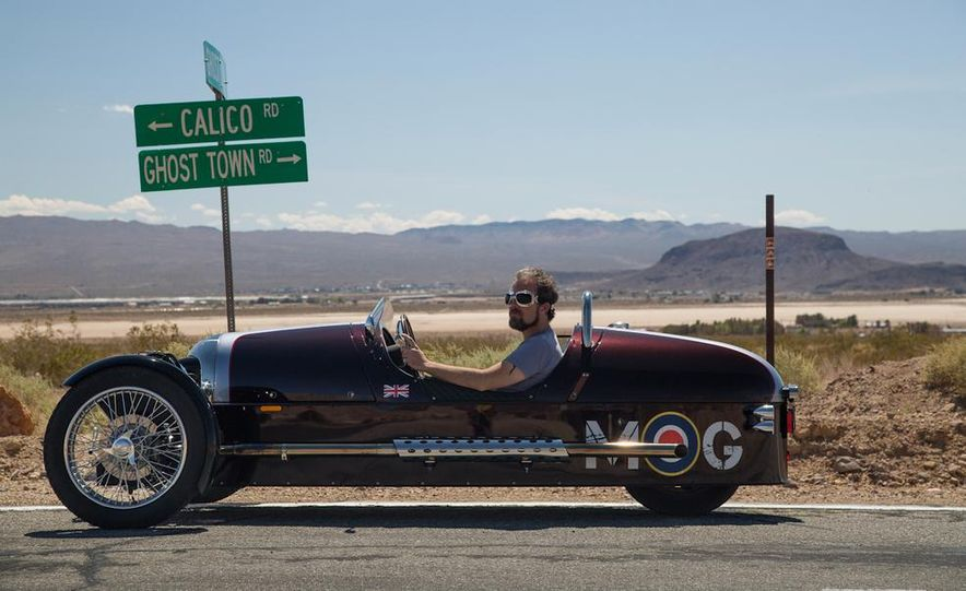 2013 Morgan 3 Wheeler - Slide 26