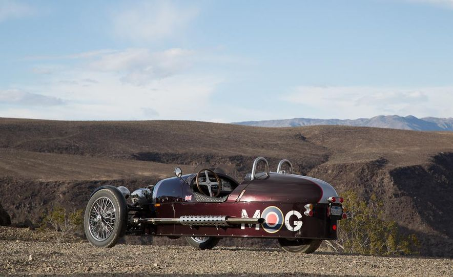 2013 Morgan 3 Wheeler - Slide 27