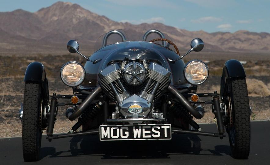 2013 Morgan 3 Wheeler - Slide 36