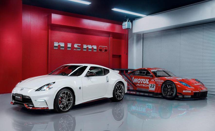 2015 Nissan 370Z NISMO and Nissan GT-R NISMO GT500 Super GT race car - Slide 1