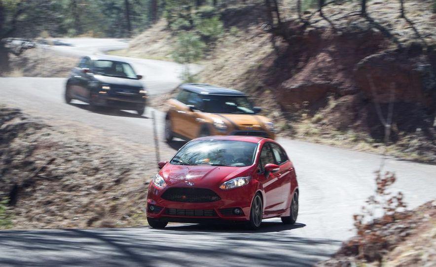2014 Ford Fiesta ST, 2014 Mini Cooper S Hardtop, and 2014 Fiat 500 Abarth - Slide 2