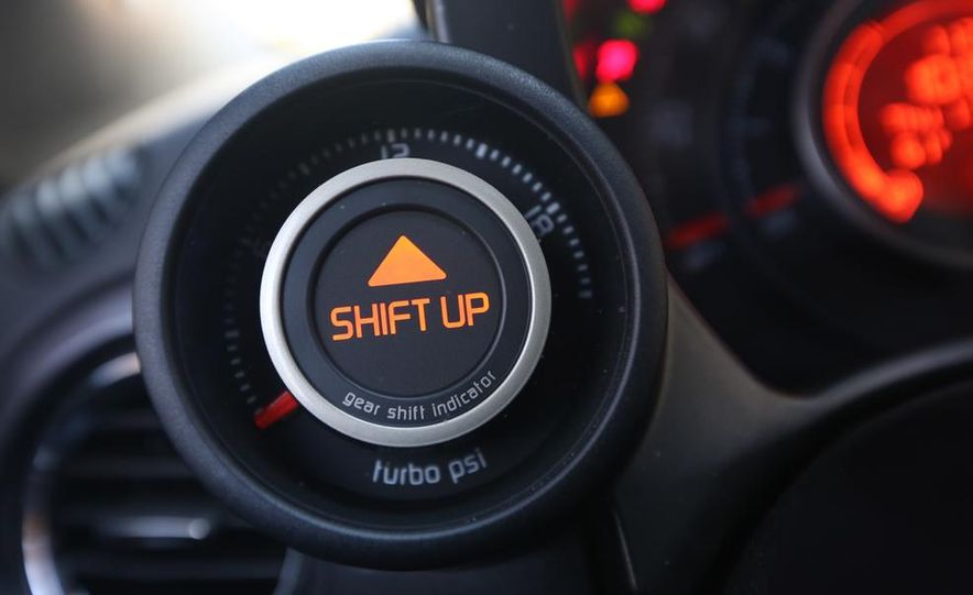 2014 Ford Fiesta ST, 2014 Mini Cooper S Hardtop, and 2014 Fiat 500 Abarth - Slide 28
