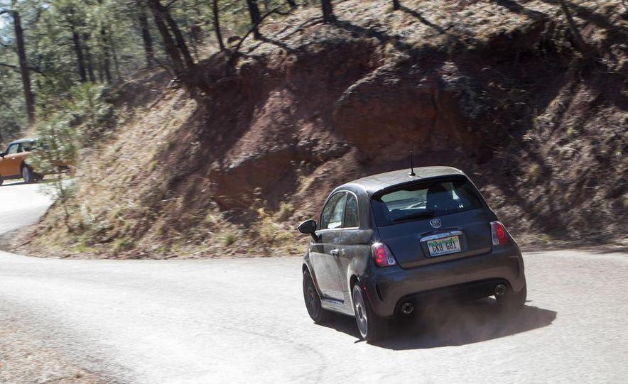 2014 Ford Fiesta ST, 2014 Mini Cooper S Hardtop, and 2014 Fiat 500 Abarth - Slide 14