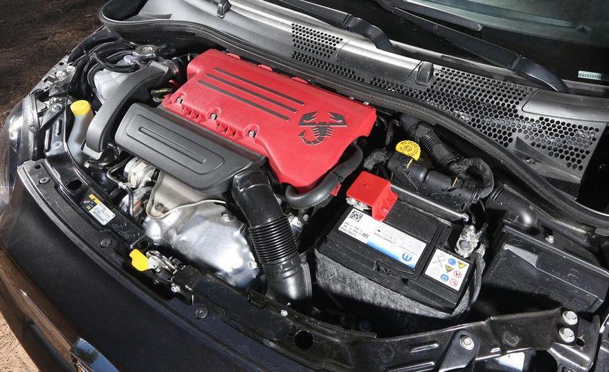 2014 Ford Fiesta ST, 2014 Mini Cooper S Hardtop, and 2014 Fiat 500 Abarth - Slide 31