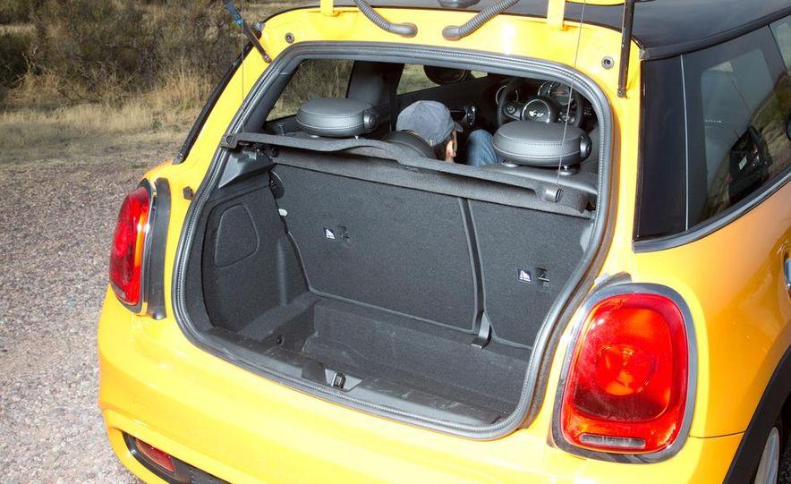 2014 Ford Fiesta ST, 2014 Mini Cooper S Hardtop, and 2014 Fiat 500 Abarth - Slide 48