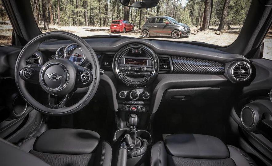 2014 Ford Fiesta ST, 2014 Mini Cooper S Hardtop, and 2014 Fiat 500 Abarth - Slide 42