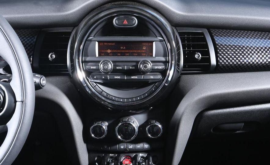 2014 Ford Fiesta ST, 2014 Mini Cooper S Hardtop, and 2014 Fiat 500 Abarth - Slide 44