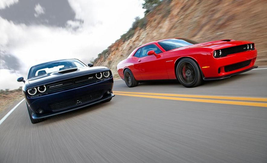2015 Dodge Challenger SRT Hellcat and Challenger SRT - Slide 2