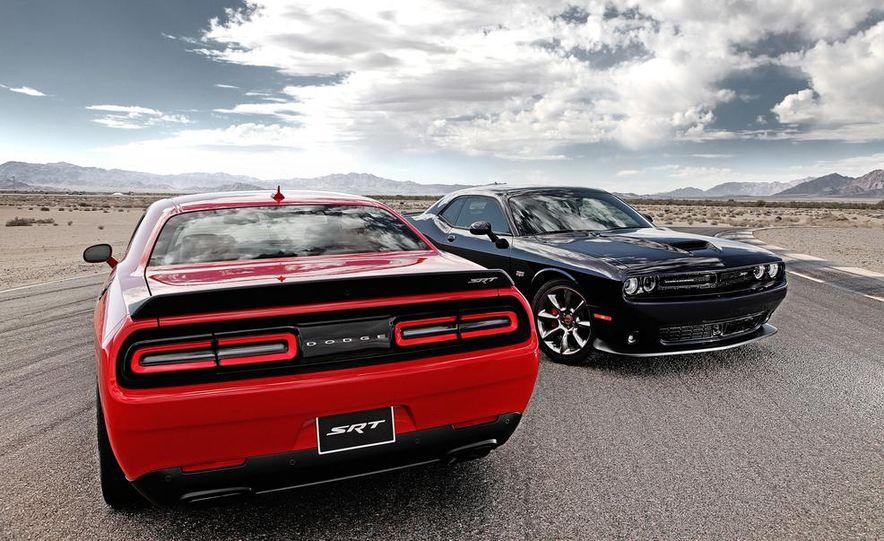 2015 Dodge Challenger SRT Hellcat and Challenger SRT - Slide 1