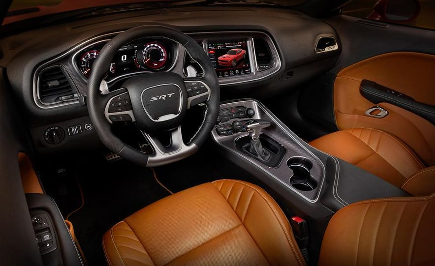 2015 Dodge Challenger SRT Hellcat and Challenger SRT - Slide 15