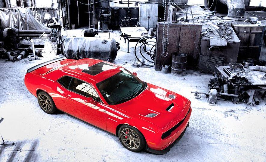 2015 Dodge Challenger SRT Hellcat and Challenger SRT - Slide 6