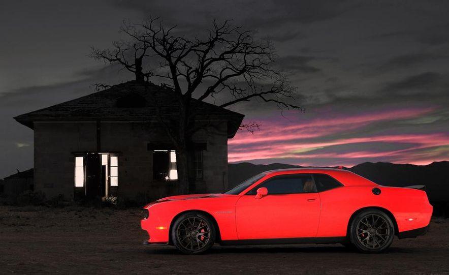 2015 Dodge Challenger SRT Hellcat and Challenger SRT - Slide 10