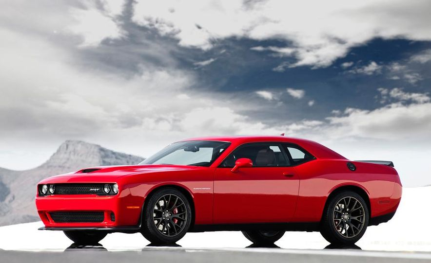 2015 Dodge Challenger SRT Hellcat and Challenger SRT - Slide 11