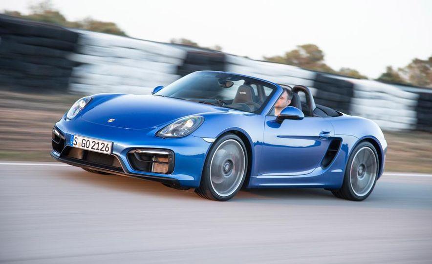 2015 Porsche Boxster GTS - Slide 8
